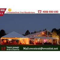 Wholesale 500 People clear wedding Tent With Hard Pressed Aluminum Alloy Fire Ratardant from china suppliers
