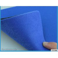 Wholesale 3MM - 7MM SBR Rubber Chemical Resistance With Shiny Terry Nylon Fabric from china suppliers