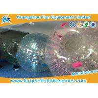 Wholesale Customized Transparent Inflatable Zorb Ball Hamster Ball With Digital Printing from china suppliers