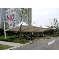 Wholesale PDFE Parking Tensile Structure Driveway Car Canopy Tents , Car Awning Shelter With Membrane Sail from china suppliers