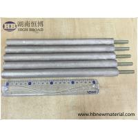 Buy cheap ASTM Zinc Aluminum Anode Rod AlZn10 For Water Heater Solar Heater from wholesalers