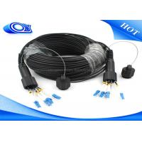 Wholesale Waterproof Outdoor Fiber Optic Patch Cord ODLC / PDLC Duplex or Simplex from china suppliers