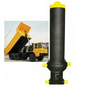 Custom Single Acting Hydraulic Cylinder Stage Telescopic Lifting Dumper Tipper