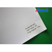 Wholesale High Glossy Laminated Outdoor Sign Material with Polyester Base Fabric PVC Coating from china suppliers