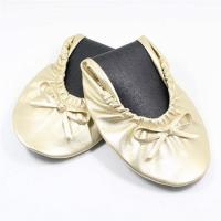 Wholesale Quality Gold Ballet Flats with Euro Size, Buckle Flat Shoes for Ballet Flats Women from china suppliers