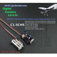 Buy cheap C1.5CHS  AGF 1.5g Ultra Micro Digital Coreless Servo Specially for small RC plane from wholesalers
