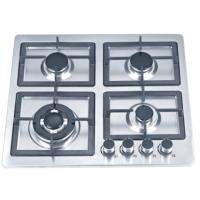 Wholesale Stainless Steel Built In Gas Cookers / 4 Ring Gas Hob 580mm For Kitchen from china suppliers