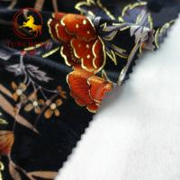 Wholesale wholesale burnout 100% silk velvet fabric from china suppliers