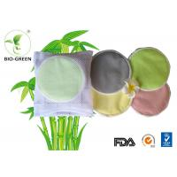 Laminated PUL Washable Bamboo Breast Pads For Mother Flower / Heart Shape