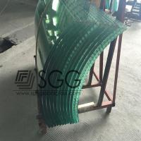 Wholesale Curved Tempered Glass 4/5/6/8/10/12/15/19mm Ultra CLear Bronze Blue Gray Green Dark Light from china suppliers