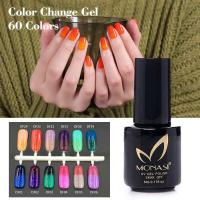 Wholesale chinese manufactuer fashion women thermal gel color change nail polish from china suppliers