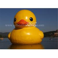 Wholesale Yellow Large Inflatable Floatable Rubber Duckies Cool Lovely EN15649 from china suppliers