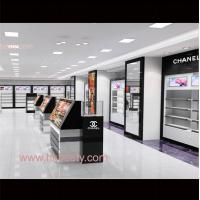 Wholesale makeup display case and mall cosmetic kiosk for makeup from china suppliers