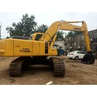 Wholesale Heavy Duty Second Hand Excavator , Durable Used Komatsu Excavator Pc220 from china suppliers