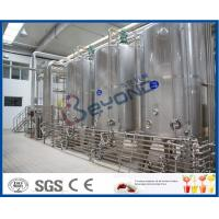 Wholesale PLC UHT Milk Processing Line For High Temperature Pasteurized Soy Milk / Organic Milk / Milk Products from china suppliers