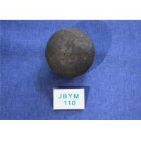 Wholesale High Surface Hardness 60-61hrc Grinding Media Steel Balls B3 D110mm for Chemical Industry from china suppliers