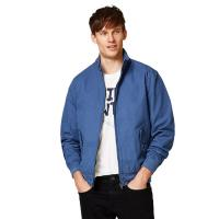 Wholesale Full Sleeve Denim Fabric Casual Jean Jackets / Adult Blue Denim Jacket from china suppliers