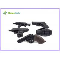 Wholesale Black Color Gun Customized Usb Flash Drive 4gb 8gb 1gb 2gb 128mb 512mb from china suppliers