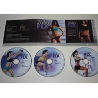 Wholesale Spanish Audio Fitness Workout DVD , Weight Loss Keep Fit Dvd OEM ODM from china suppliers