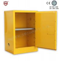 Wholesale Fire Resistant Yellow Safety Mobile Storage Cabinet , Flame Proof Cabinets 20 Gallon from china suppliers