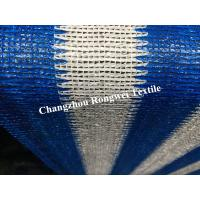 Blue Whiie UV Rectangle Sun Shading Sail Balcony Shade Net For Green House