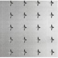Wholesale AISI, ASTM Perforated Stainless Steel Sheet Four Pointed Star Hole Shape from china suppliers