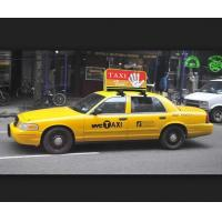 Buy cheap Top selling outdoor High brightness P4 taxi led display, 3G advertising P5 taxi top led display from wholesalers