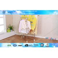 Wholesale Portable Mobile Metal Clothes Drying Rack Extensible Stainless Steel for Quilt from china suppliers
