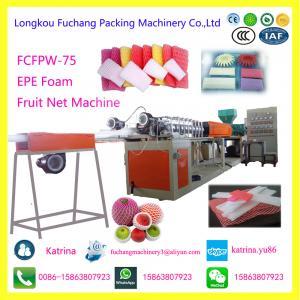 Wholesale EPE Foam Fruit Net Extruder Plastic PE Foam Net Making Machine from china suppliers