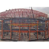 Quality Customized Light Truss Steel Structure Steel Frame Roof Trusses For Sport Hall for sale