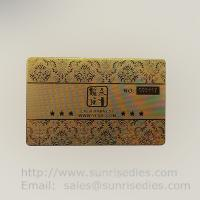 Precise Etched Metal Membership Cards maker