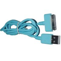 Wholesale Blue USB2.0 Charge & Sync Cable to 30 Pin Connector Cable from china suppliers