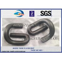 Wholesale E Shape 60Si2MnA 60Si2MnA Elastic Rail Clips With Oxide Black from china suppliers