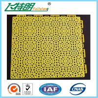 Wholesale Outdoor Indoor PP Suspended Interlocking Rubber Floor Tiles Modular Hockey Flooring from china suppliers