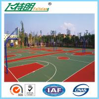 Wholesale All Weather Sport Court Flooring / Acrylic Tennis Court Surface Anti Slip Floor Tiles from china suppliers