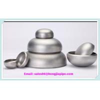 Wholesale stainless steel ASTM A403 WP316L BW pipe cap from china suppliers