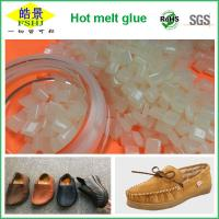 Wholesale Light Yellow Granule Hot Melt Glue Pellets Glue For Rubber Shoes from china suppliers