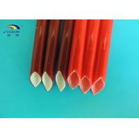 Wholesale 4KV Braided Silicone Coated Fiberglass Sleeve for Home Electrical Appliance from china suppliers