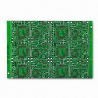Wholesale Double Layer PCB with 6.0mm Maximum Board Thickness, Made of FR4 from china suppliers