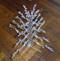 Wholesale Professional quality transparent outdoor acrylic christmas tree for Gift/Oranments from china suppliers
