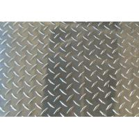 Wholesale Thickness Coated Aluminum Checkered Sheet , Roll Embossed Aluminum Plate For Insigns from china suppliers