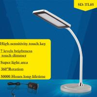 Wholesale Eye protection 360° rotation LED Table Lamps 7 levels brightness touch dimmer from china suppliers