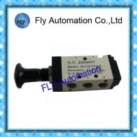 "Wholesale AIRTAC 5/2 Way Push pull Valve ,4L series 1/8"" 1/4"" 3/8""  Pneumatic Manual Hand valve from china suppliers"