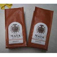 Wholesale Matte Surface Quad Seal Mexico Type Coffee Tea Bags With Air Evaculation Valve from china suppliers
