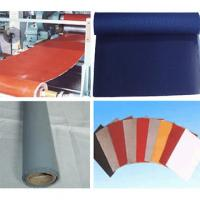 Wholesale red white grey insulation Silicon Elastic Fabric silicone coated rubber fiberglass cloth from china suppliers