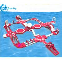 Wholesale 45m L * 40mW *6mH Inflatable Water Park Equipment ,Floating Water Park Seaside use from china suppliers