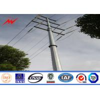 Wholesale 33kv transmission line Electrical Power Pole for steel pole tower from china suppliers