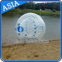Wholesale Transparent 1.0mm PVC Aqua Zorbing Ball With Color Dots For Pool Use from china suppliers
