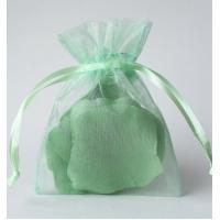 Buy cheap Eco-friendly Organza Gift Bags With Drawstring Rectangle Square For Jewelry gift from wholesalers