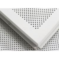 Wholesale 575 x 575mm Suspended Imperforated Lay In Ceiling Tiles Sound Insulation from china suppliers